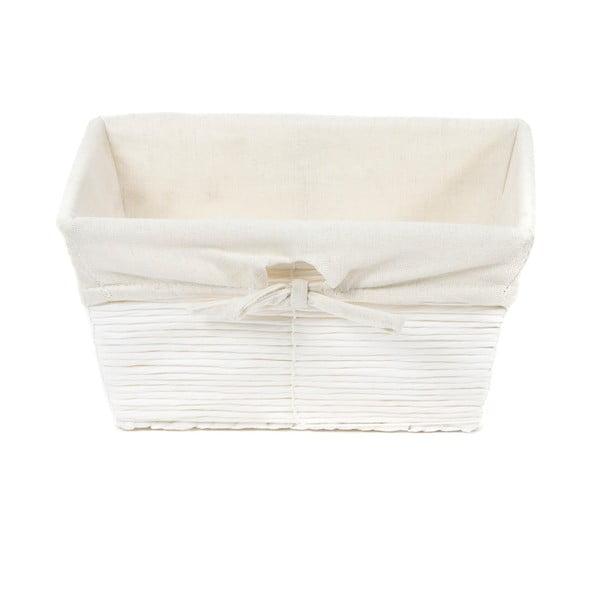 Biały koszyk papierowy Compactor Kimo Paper Basket, 26x14 cm