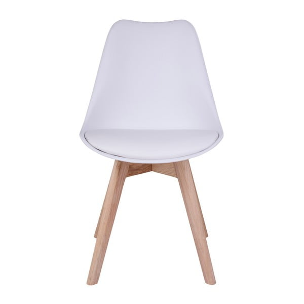 Set 2 scaune House Nordic Molde, alb