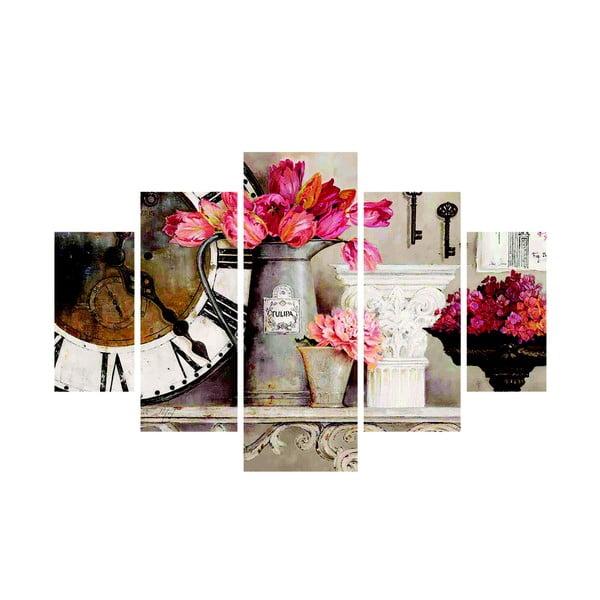 Tablou din mai multe piese Humberto, 92x56 cm