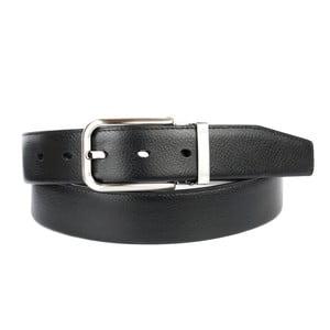 Pánský kožený pásek 1PTT10 Black, 90 cm