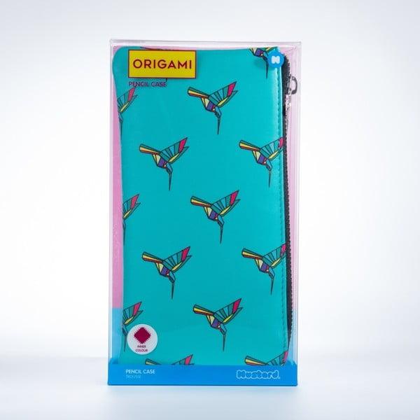 Origami tolltartó - Just Mustard