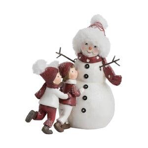 Dekorativní vánoční soška J-Line Snowmen