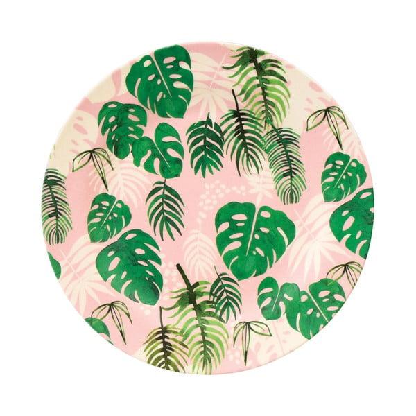 Bambusový talíř Rex London Tropical Palm