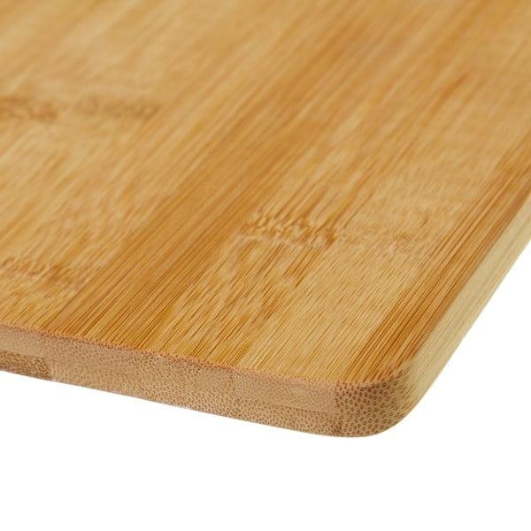 Krájecí prkénko z bambusu Unimasa Chef, 28 x 20 cm