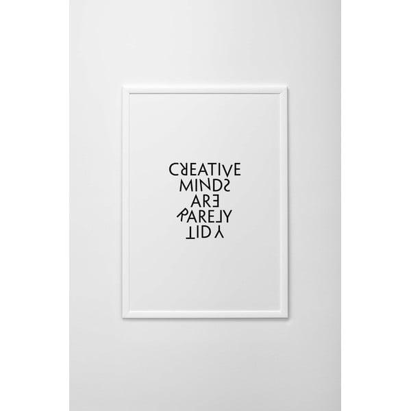 Autorský plakát Creative Minds, vel. A4