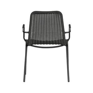 Černá jídelní židle WOOOD Wander