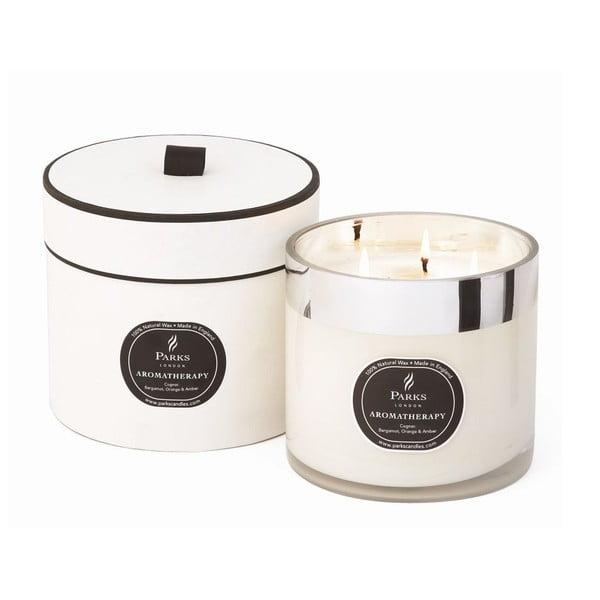Svíčka Aromatherapy Candles, Cognac, 80 hodin hoření