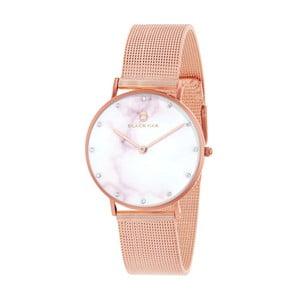 Růžové dámské hodinky Black Oak Marble