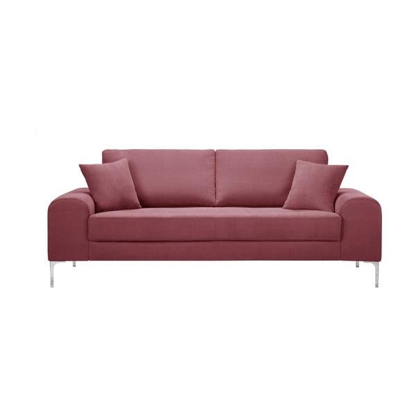 Canapea cu 3 locuri Corinne Cobson Dillinger, roz