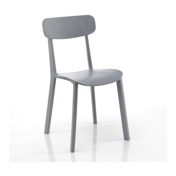 Set 4 scaune Tomasucci Mara, gri