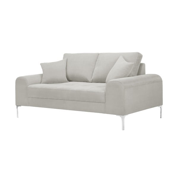 Canapea cu 2 locuri Corinne Cobson Dillinger, crem