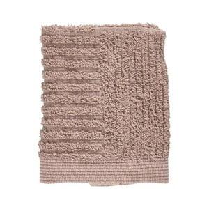 Béžový ručník ze 100% bavlny na obličej Zone Classic, 30x30cm