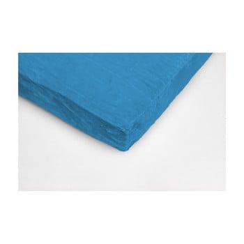 Cearceaf din micropluș My House, 180 x 200 cm, albastru turcoaz imagine