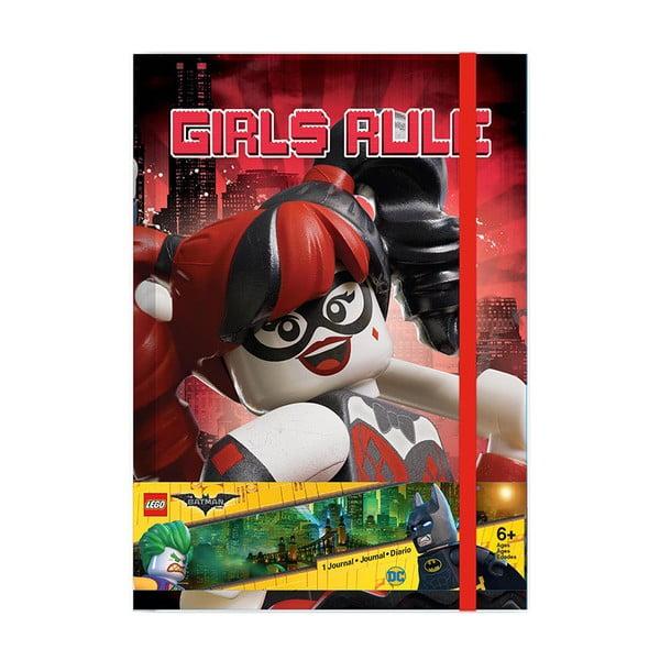 Caiet Pyramid International Lego Batman Batgirl Harley Quinn
