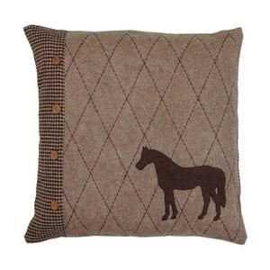 Polštář France Horse, 50x50 cm