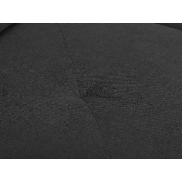 Tmavě šedá rohová rozkládací pohovka Windsor & Co Sofas, pravý roh Beta