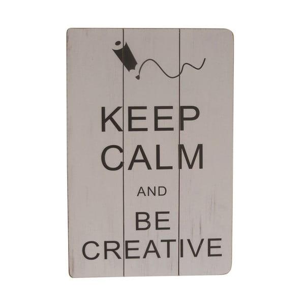 Závěsná cedule Be Creative, 45x30 cm