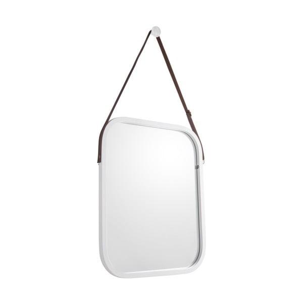 Idylic falitükör fehér kerettel, hossz 40,5cm - PT LIVING
