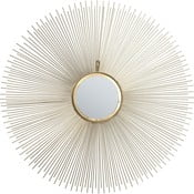 Nástěnné zrcadlo Kare Design Sunbeam,Ø90cm