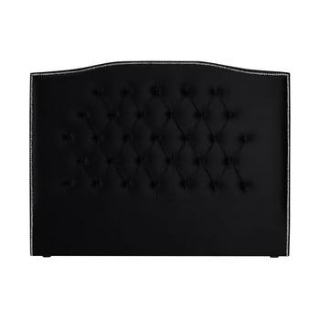 Tăblie pentru pat Mazzini Sofas Cloves, 200 x 120 cm, negru de la Mazzini Sofas