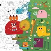Omalovánky Creative Gifts Dobrodružství ve světě