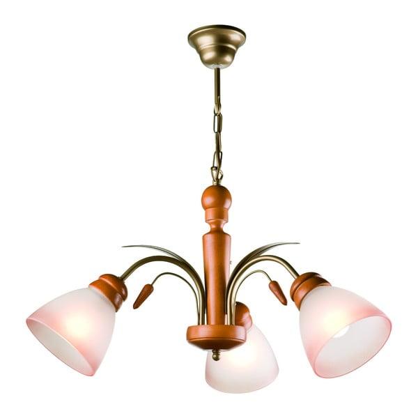 Závěsné svítidlo pro 3 žárovky Lamkur Tulipan