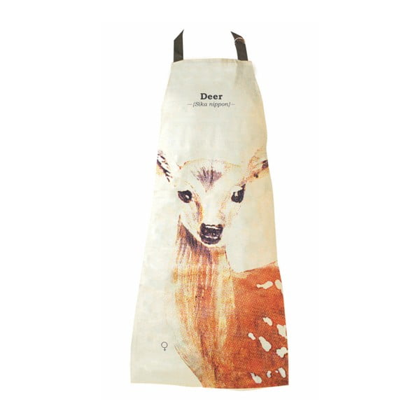 Wild Animals Deer pamut kötény - Gift Republic