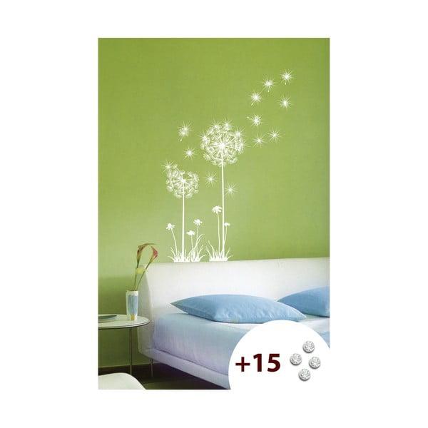 Set autocolante și 15 cristale Swarovski Ambiance Dandelion Flowers