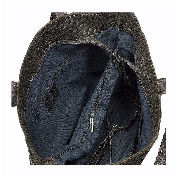 Kožená kabelka Markese 1156 Brown