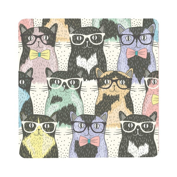 Stolek Cats In Glasses