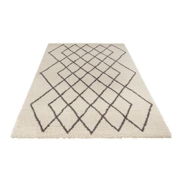 Krémovo-šedý koberec Mint Rugs Allure, 120 x 170 cm