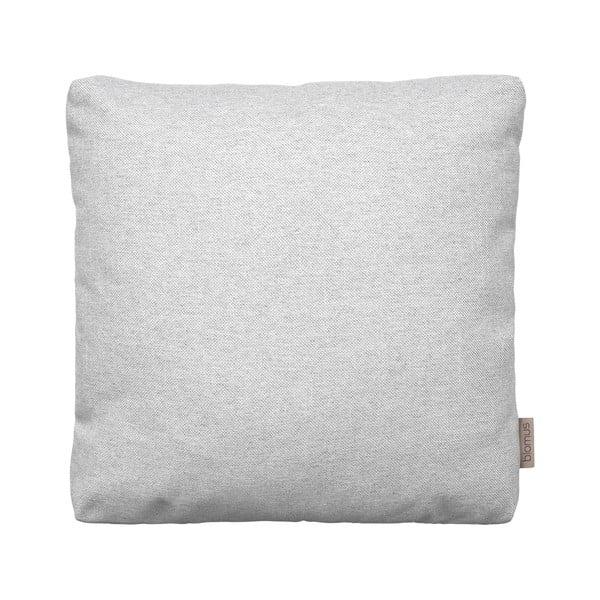 Svetlosivý bavlnený poťah na vankúš Blomus, 45 x 45 cm