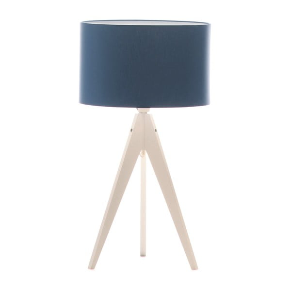 Stolní lampa Artist Dark Blue/White, 40x33 cm