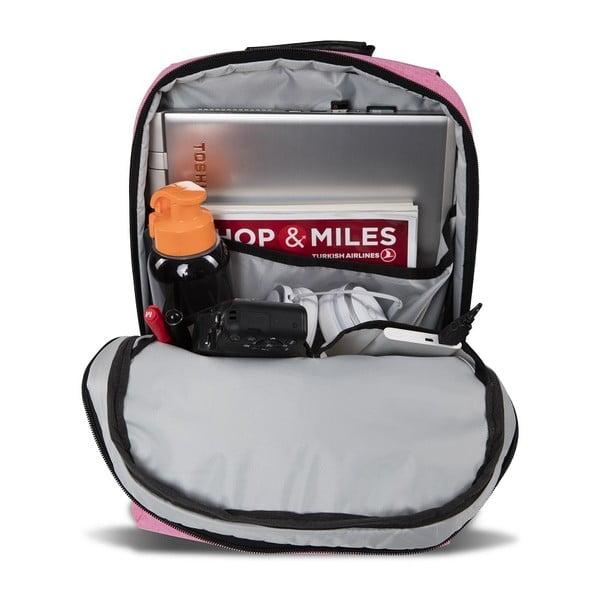 Fuchsiový batoh s USB portem My Valice GALAXY Smart Bag
