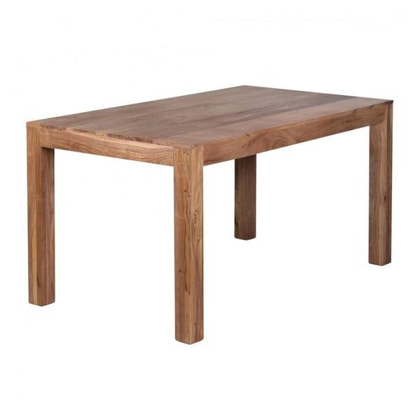 Stół z litego drewna akacji Skyport Alison, 160x80 cm