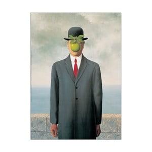 Obraz Magritte - Les fils de'l homme, 50x70 cm