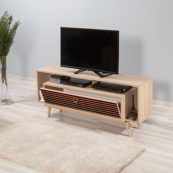 TV stůl Elegant Red Classic, šířka 54 cm