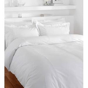 Bílé povlečení na dvoulůžko Catherine Lansfield Minimalist, 220 x 230 cm