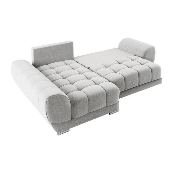 Canapea extensibilă de colț Windsor & Co Sofas Cloudlet, pe partea stângă, bej deschis