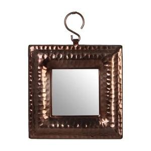 Zrcadlo Laura Bronze, 17x17 cm