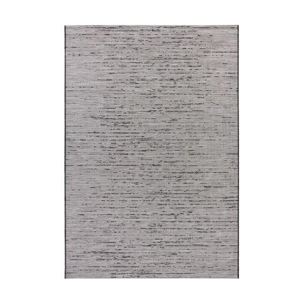 Šedý koberec vhodný do exteriéru Elle Decor Curious Laval, 77 x 150 cm