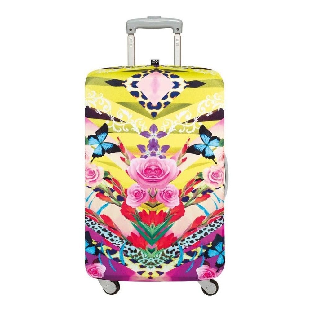 Obal na kufr LOQI Flower Dream