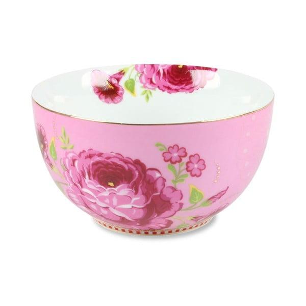 Miska Pretzel 12 cm, růžová