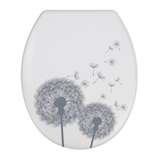 WC sedadlo s jednoduchým zatváraním Wenko Astera, 45,5 × 38 cm
