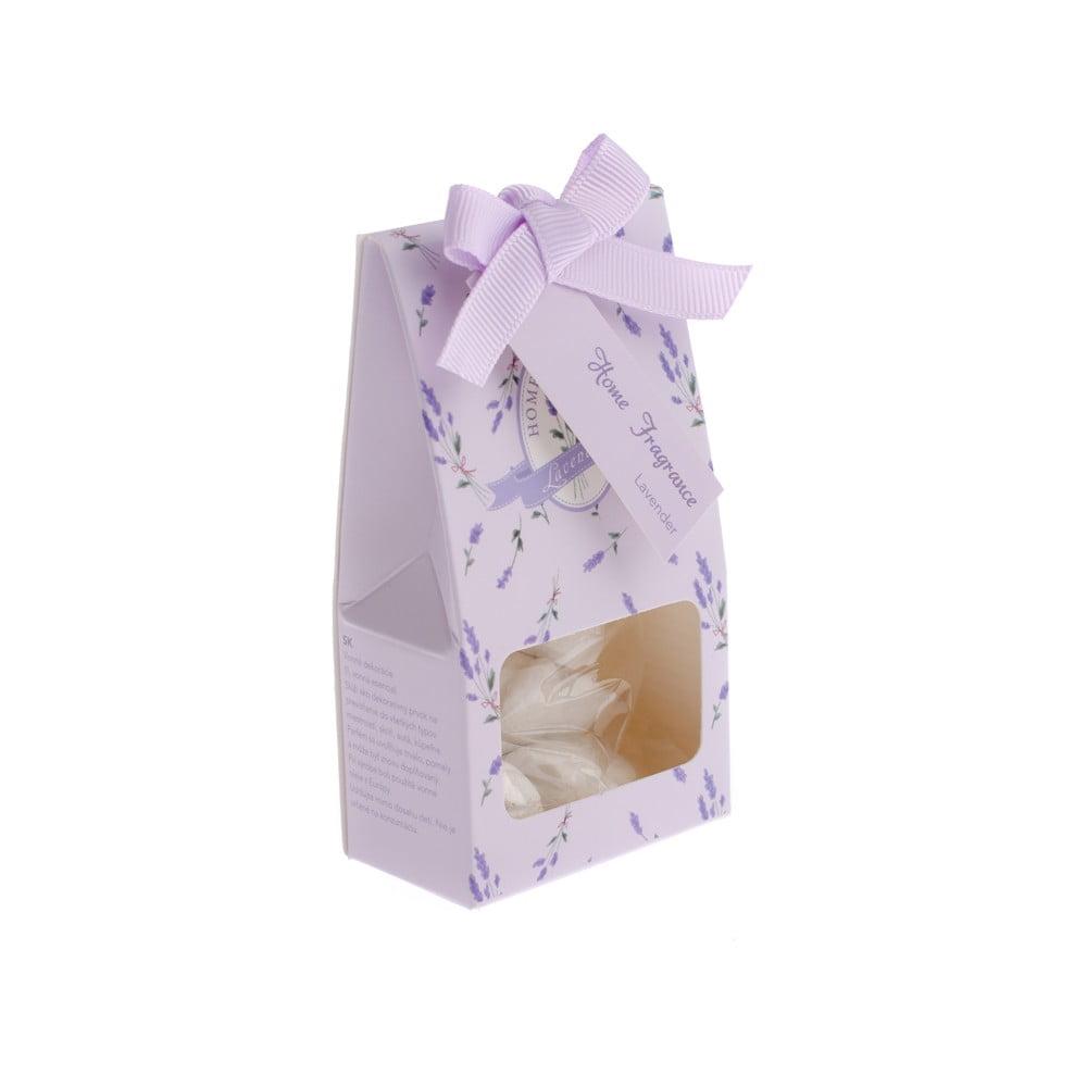 Sada 6 vonných jílů s vůní levandule v krabičce Dakls