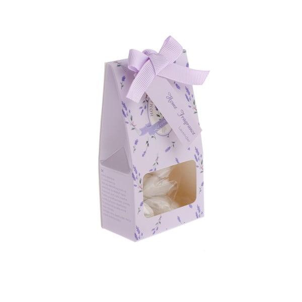 Set 6 bucăți de lut parfumate cu aromă de lavandă în cutie Dakls