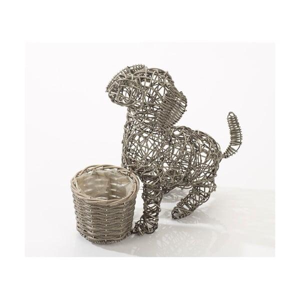 Dekorativní ratanový květináč Puppy