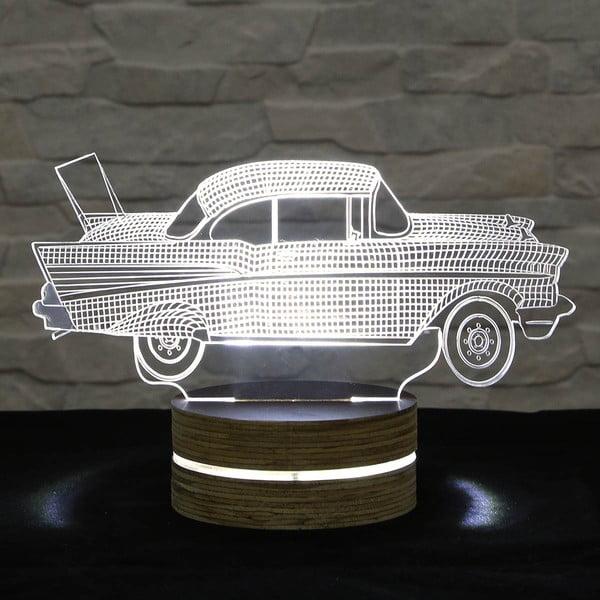 3D stolní lampa Car