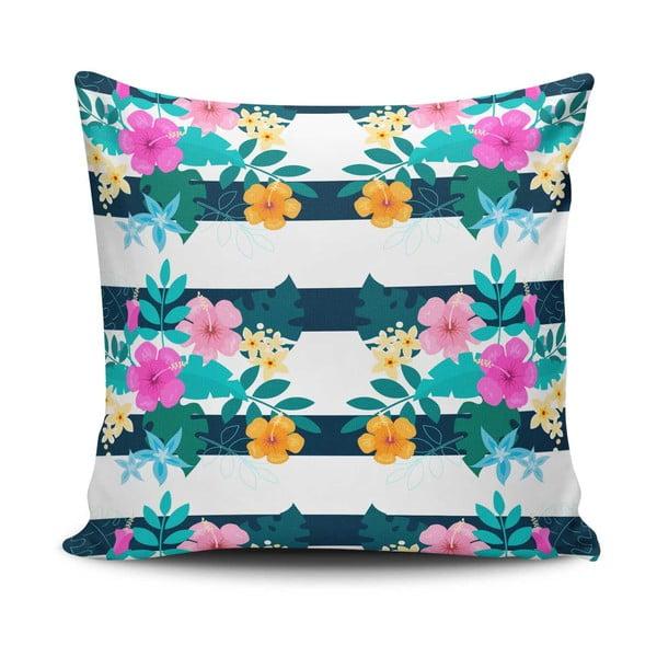 Povlak na polštář s příměsí bavlny Cushion Love Ruteno, 45 x 45 cm