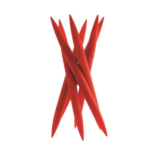 Stojan se 6 noži Magnum Red